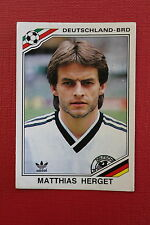 Panini MEXICO 86 N. 296 DEUTSCHLAND HERGET With back GOOD CONDITION!!