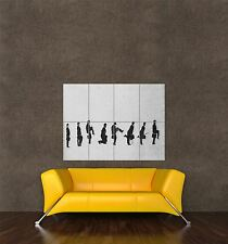 POSTER PRINT PAINTING GRAFFITI MONTY PYTHON SILLY WALK STOP MOTION EFFECT SEB481
