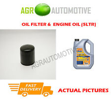 PETROL OIL FILTER + LL 5W30 ENGINE OIL FOR SMART FORFOUR 1.5 177 BHP 2005-06