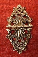 Cloak Clasp Cape Clasps Medieval Celtic Viking Gold King Knight Mantle Robe