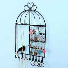 Wall-mounted Stand Holder Rack Jewelry Earring Necklace Bracelet Display 2016