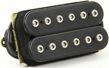 NEW DiMarzio Super Distortion Humbucker PICKUP F SPACED Black DP100 DP100FBK