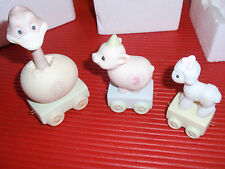 3 VINTAGE PRECIOUS MOMENTS NEW IN BOX 1985  BIRTDAY FIGURINES