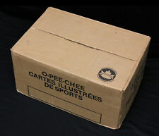 1985-86 O-Pee-Chee Hockey Bulk/Cut Card Vending Case. Still Sealed. 8650 cards.