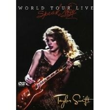 "TAYLOR SWIFT ""SPEAK NOW WORLD""  DVD NEU"