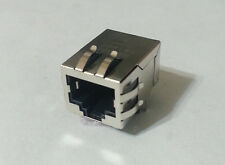 74pcs ERNI RJ45 8P Modular Ethernet Jack Connector 1Port CAT5e Shielded 203189