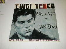 LUIGI TENCO - BALLATE E CANZONI - LP 1965 STELLA RECORDS - GREEN LABEL - VG/VG+