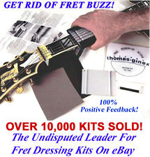 Guitar,FRET LEVELING,FRET DRESSING,FRET CROWNING KIT,FRET BUZZ KIT,Luthier Tools