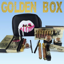 "►best ""KYLIE GOLDEN BOX"" 8pc/lot! Gift Gloss liner Collection(kyliner cosmestic)"