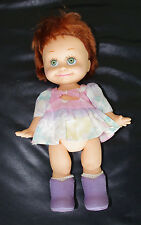 "Rare 1990 13"" Galoob Baby Face Doll ""So Shy Sherri"" #9 in series"