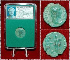 Ancient Roman Empire Coin Of ANTONINUS PIUS Concordia Reverse Philippolis Mint