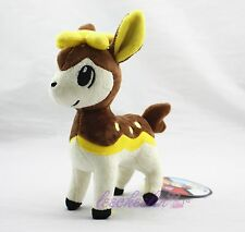 "7"" Nintendo Pokemon Pokedoll Deerling シキジカ Shikijika Winter Brown Plush Doll"