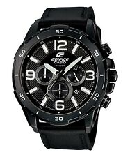 Casio Edifice EFR538L-1AV Chronograph Mens Watch - NEW W/ Tags
