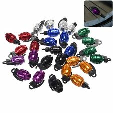 4pcs Grenade Car Truck Bike Tire Tyre air Valve Stem Caps Wheel Rims Dust Cover