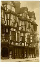 Shrewsbury England -IRELAND'S TUDOR MANSION- RPPC Postcard