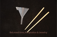 Funnel Kit For Filling Cremation Jewelry Urns and Keepsakes with Ashes, Cremains