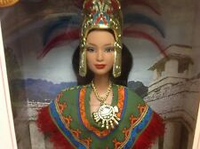 Princess of Ancient MEXICO  PINK LABEL Barbie Dolls of the World Authentic Dress