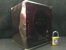 PURE POISON by Christian Dior EDP for Women 3.4 oz - 100 ml *NEW IN SEALED BOX*