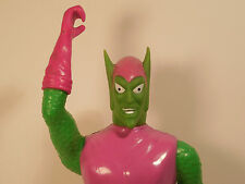 """VINTAGE CLASSIC GREEN GOBLIN  MARVEL COMICS 12"""" FIG. Energized Remco 1978 used"""