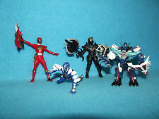 "POWER RANGERS DINOTHUNDER SET OF RANGERS HIGH QUALITY DETAIL 3"" BLIZZARD ZELTRAX"
