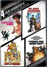 BLACK BELT JONES*BLACK SAMSON*HOT POTATO*THREE THE HARD WAY Action R1 DVD *NEW*