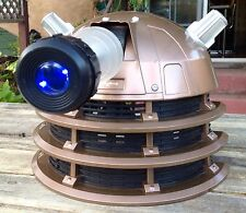 TALKING BBC DR DOCTOR WHO MONSTER DALEK COSTUME HELMET VOICE CHANGER MASK LITES!