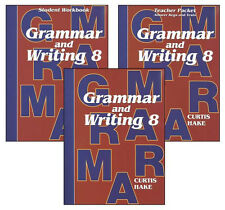 Saxon Grammar & Writing Hake's Grammar Grde 8 Kit Hakes - Middle School