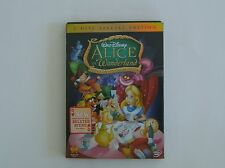 Disney Alice in Wonderland DVD 2 Disc Special Un-Anniversary Edition 2010