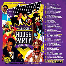 DJ TY BOOGIE - OLD SCHOOL HOUSE PARTY PT.2 (MIX CD) CLASSIC 80's and 90's R&B