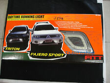 FOR MITSUBISHI MONTERO/ PAJERO SPORT FITT LED DAYTIME RUNNING LIGHT