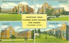 Tallahassee, FL xGreetings from Florida State College for Women
