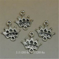 30pc Tibetan Silver Imperial crown Connectors Findings Jewellery Wholesale PL872