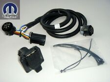 DODGE RAM 2500 3500 2011-2013 REAR CONNECTOR TOWING PLUG TRAILER WIRING KIT NEW