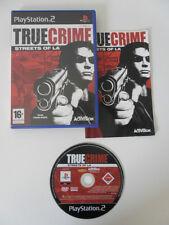 TRUE CRIME STREETS OF LA - PLAYSTATION 2 - JEU PS2 COMPLET