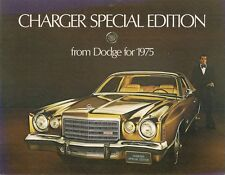 Dodge Charger Special Edition 1975 USA Market Sales Brochure