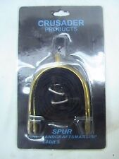 Crusader Products stainless steel LADIES size POW spurs w/nylon straps english