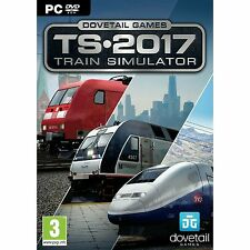 Train Simulator 2017 PC Brand New factory Sealed Simulation Game