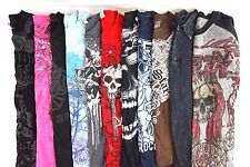 Mixed Brand w/ Affliction Lot of 11 Men's Graphic T-Shirts Medium M O10487