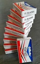 100 WILKINSON SWORD DOUBLE EDGE RAZOR BLADES Barber Cut - Limited Special Offer