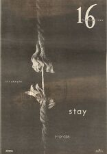 30/9/89Pgn69 Advert: 16 Tambourines Single 'if I Should Stay' On Arista 10x7