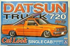 AOSHIMA pickup truck #4 1/24 Datsun Truck 720 cal look single cab short body kit