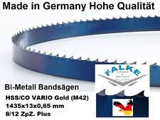 Bandsägeblatt Bimetall Gold M42 1435 mm x 13  x 0,65 mm 8/12 Bandsägeblätter