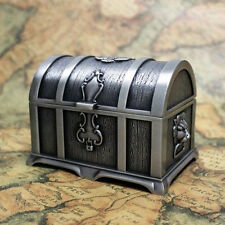 Pirates of the Caribbean Treasure Chest Vintage Jewelry Box Carring Case Size M