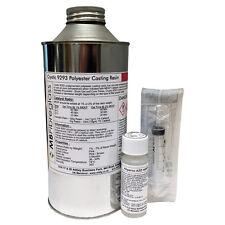 Polycraft PD9293PA General Purpose Casting Resin + Hardener & Syringe - 1kg