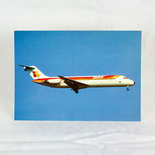 Iberia Airlines - DC-9-32 - Aircraft Postcard - Top Quality