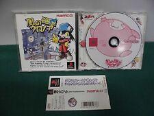 PlayStation -- Kaze no Klonoa door to phantomile -- PS1. JAPAN GAME. Spine Card.