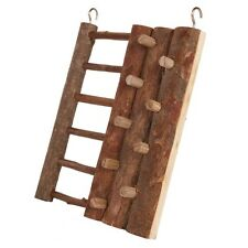 Trixie Natural wooden Hanging Climbing Wall ladder Hamster Gerbil Mice Cage6199