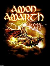 AMON AMARTH cd lgo Deceiver of the Gods THOR TOUR Official SHIRT LRG New oop