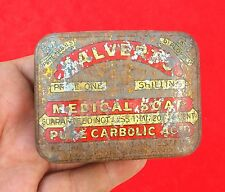 VINTAGE CALVERT'S MEDICAL SOAP ADVERTISING LITHO TIN BOX, ENGLAND