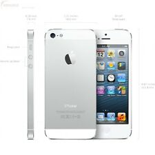 New Apple iPhone 5s Verizon 16GB Silver Smartphone Also GSM Unlocked